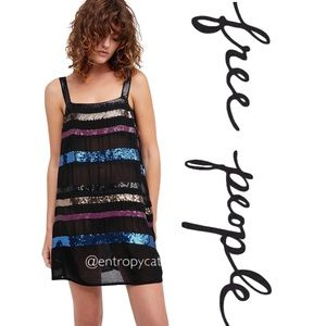 NWT Free People Heartbreak Hotel Slip Dress
